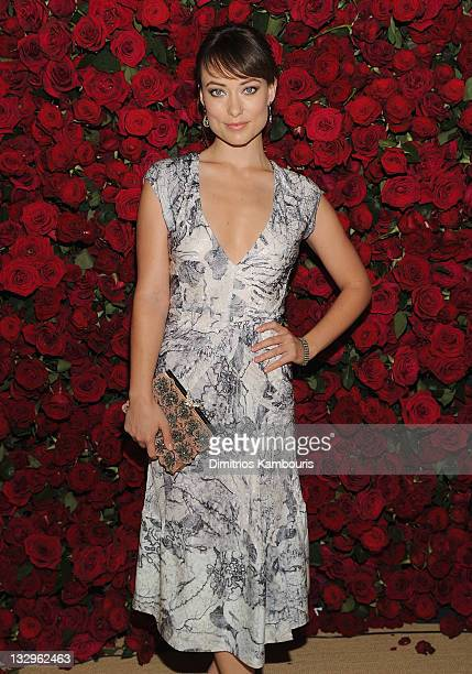 Actress Olivia Wilde attends the Museum of Modern Art's 4th Annual Film benefit A Tribute to Pedro Almodovar at the Museum of Modern Art on November...