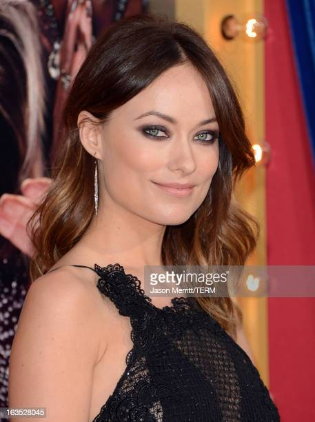 """Actress Olivia Wilde attends the premiere of Warner Bros. Pictures' """"The Incredible Burt Wonderstone"""" at TCL Chinese Theatre on March 11, 2013 in..."""
