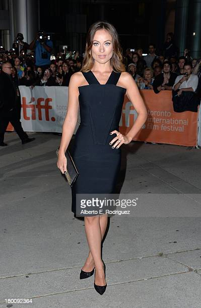 """Actress Olivia Wilde attends the """"Rush"""" premiere during the 2013 Toronto International Film Festival at Roy Thomson Hall on September 8, 2013 in..."""