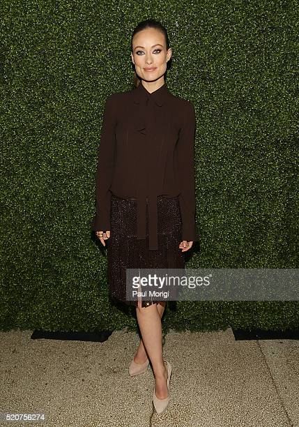 Actress Olivia Wilde attends the World Food Program USA's Annual McGovernDole Leadership Award Ceremony at Organization of American States on April...