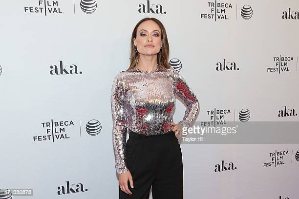 Actress Olivia Wilde attends the world premiere of 'Meadowland' during 2015 Tribeca Film Festival at SVA Theater 1 on April 17, 2015 in New York City.