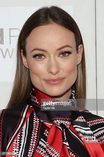 Actress Olivia Wilde attends the world premiere of 'Tumbledown' during the 2015 Tribeca Film Festival at BMCC Tribeca PAC on April 18 2015 in New...