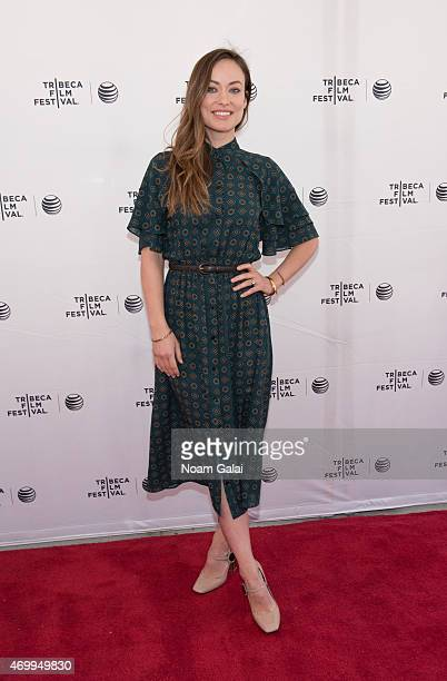 Actress Olivia Wilde attends Tribeca Talks: Master Class: ARC Adorama Rental Company The Producers during the 2015 Tribeca Film Festival at SVA...