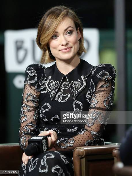 Actress Olivia Wilde discusses 'Fear Us Women' at Build Studio on November 8 2017 in New York City