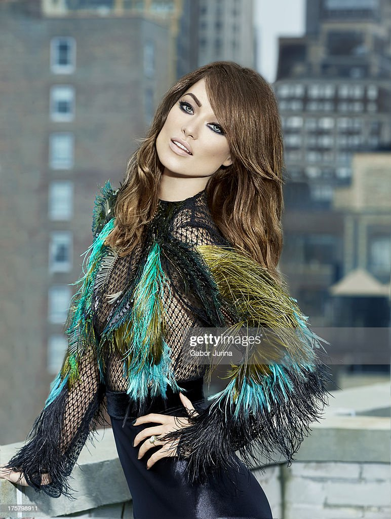 Actress Olivia Wilde is photographed for Fashion Magazine on September 1, 2013 in Los Angeles, California. COVER