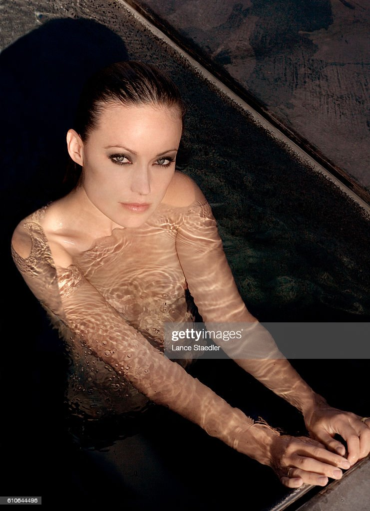 Actress Olivia Wilde is photographed for People Magazine in June 2007 in Los Angeles, California.