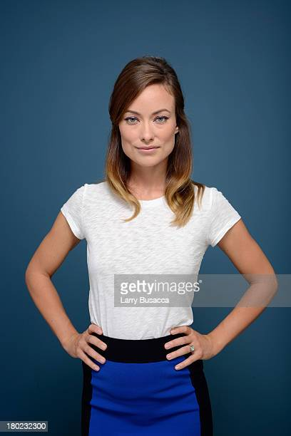 Actress Olivia Wilde of 'Third Person' poses at the Guess Portrait Studio during 2013 Toronto International Film Festival on September 10 2013 in...