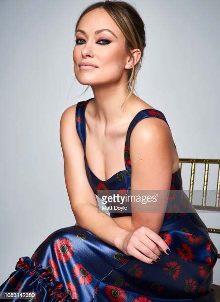 Actress Olivia Wilde poses for a portrait at The National Board of Review Annual Awards Gala on January 8 2019 at Cipriani 42nd Street in New York...