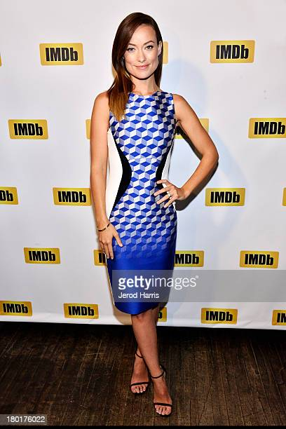 Actress Olivia Wilde receives IMDb's FirstEver STARmeter Award during the 2013 Toronto International Film Festival on September 9 2013 in Toronto...