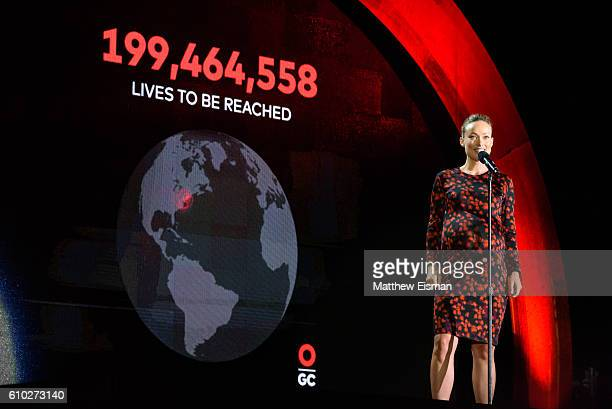 Actress Olivia Wilde speaks onstage at Global Citizen Festival 2016 at Central Park on September 24, 2016 in New York City.