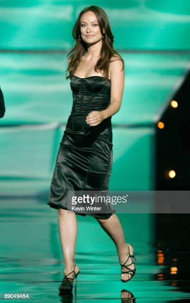 Actress Olivia Wilde walks onstage during the 2009 ESPY Awards held at Nokia Theatre LA Live on July 15 2009 in Los Angeles California The 17th...