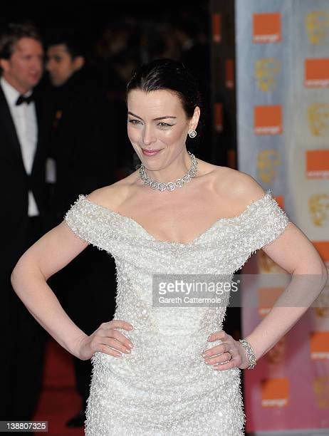 Actress Olivia Williams attends the Orange British Academy Film Awards 2012 at the Royal Opera House on February 12 2012 in London England