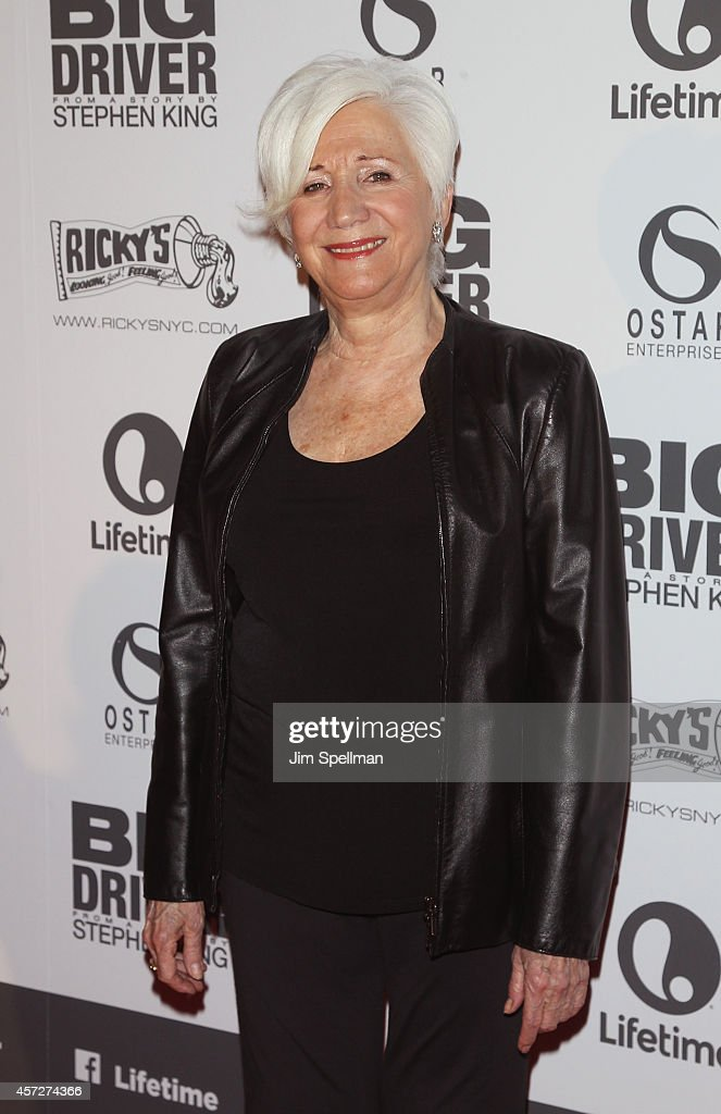 Actress Olympia Dukakis attends the 'Big Driver' New York Premiere at Angelika Film Center on October 15, 2014 in New York City.