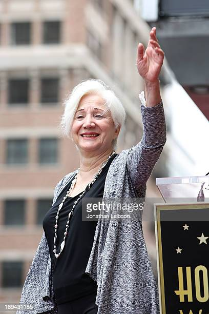 Actress Olympia Dukakis is honored with the 2498th Star on The Hollywood Walk Of Fame on May 24 2013 in Hollywood California
