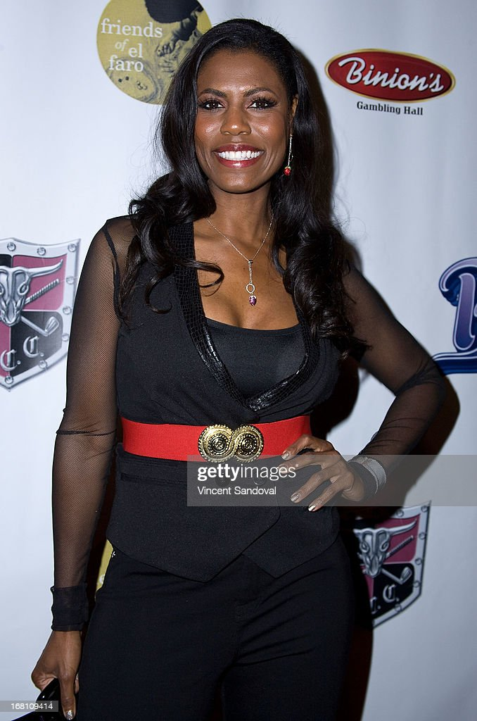 Actress Omarosa Manigault attends the 10th annual anniversary and Cinco De Mayo benefit with annual Charity Celebrity Poker Tournament at Velvet Margarita on May 4, 2013 in Hollywood, California.