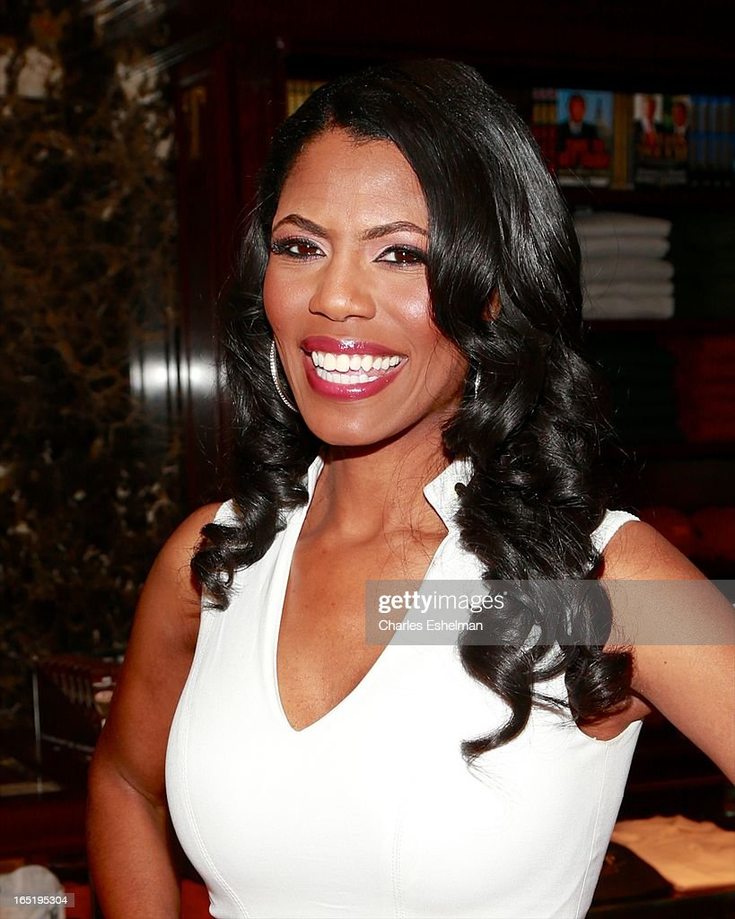 Actress Omarosa Manigault attends the 'All-Star Celebrity Apprentice' Red Carpet Event at Trump Tower on April 1, 2013 in New York City.