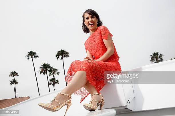 Actress on Lifetime's 'UnReal' Constance Zimmer is photographed for Los Angeles Times on June 5 2016 in Los Angeles California PUBLISHED IMAGE CREDIT...