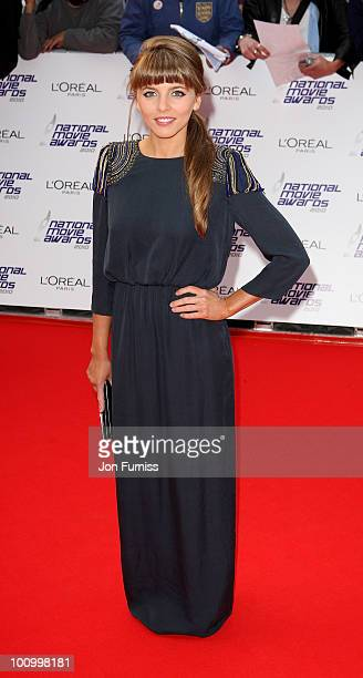 Actress Ophelia Lovibond attends the National Movie Awards 2010 at the Royal Festival Hall on May 26 2010 in London England