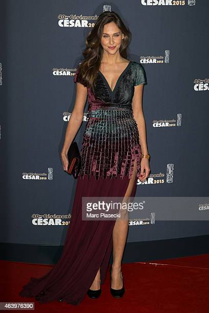 Actress Ophelie Meunier attends the 'CESARS' Film awards at Theatre du Chatelet on February 20 2015 in Paris France