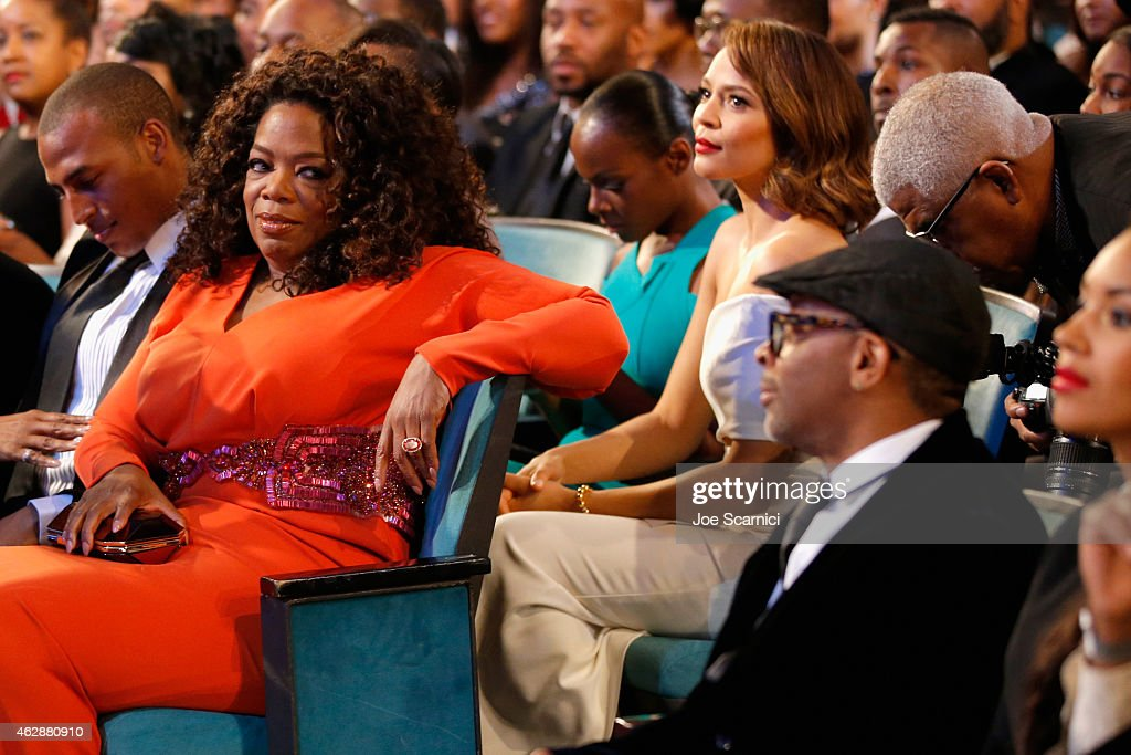 Actress Oprah Winfrey and director Spike Lee attend the 46th NAACP... News  Photo - Getty Images