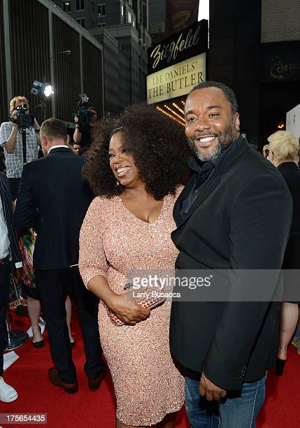 Actress Oprah Winfrey and producer Lee Daniels attend Lee Daniels' The Butler New York premiere hosted by TWC DeLeon Tequila and Samsung Galaxy on...