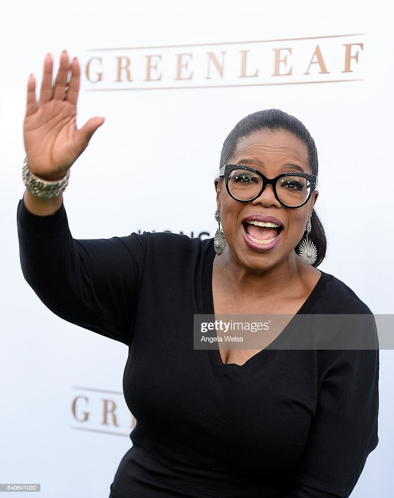Actress Oprah Winfrey arrives at the premiere of OWN's 'Greenleaf' at The Lot on June 15, 2016 in West Hollywood, California.