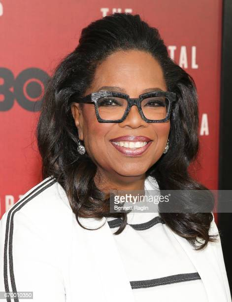 Actress Oprah Winfrey attends 'The Immortal Life Of Henrietta Lacks' New York Premiere at SVA Theater on April 18 2017 in New York City