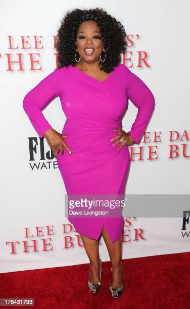 Actress Oprah Winfrey attends the premiere of the Weinstein Company's Lee Daniels' The Butler at Regal Cinemas LA Live on August 12 2013 in Los...