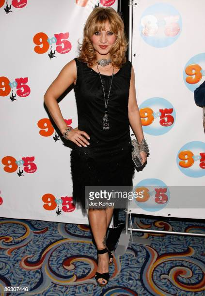 Actress Orfeh attends the opening of 9 to 5 The Musical on Broadway at the Marriott Marquis Theatre on April 30 2009 in New York City
