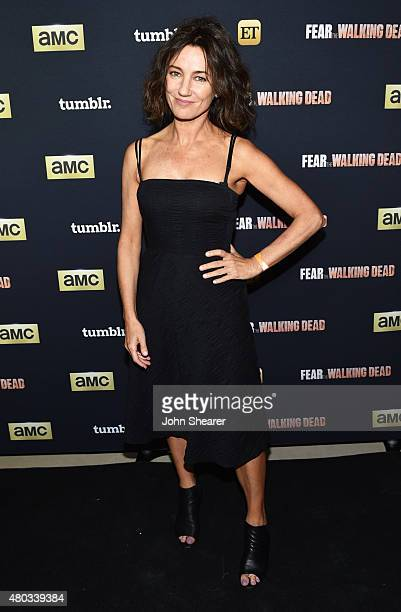 Actress Orla Brady attends AMC ET And Tumblr's Fear The Walking Dead Event At ComicCon 2015 on July 10 2015 in San Diego California