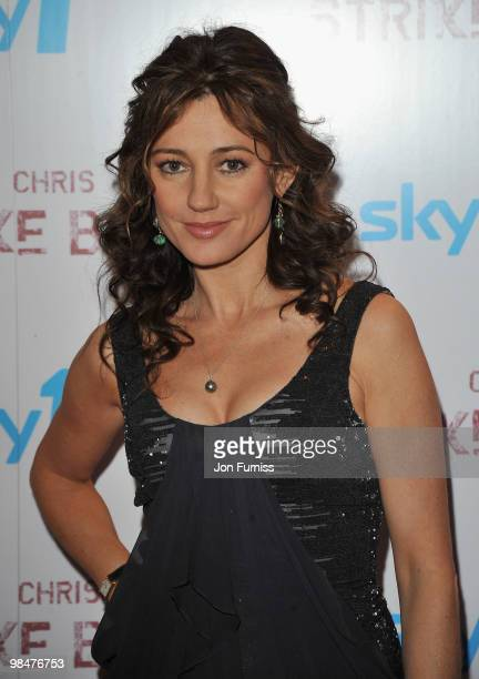 Actress Orla Brady attends the special premiere of Sky One's 'Strike Back' at the Vue West End on April 15 2010 in London England