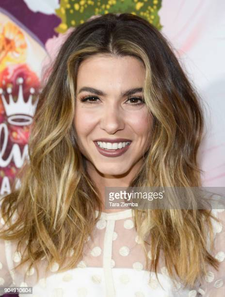Actress Orly Shani attends Hallmark Channel and Hallmark Movies and Mysteries Winter 2018 TCA Press Tour at Tournament House on January 13 2018 in...