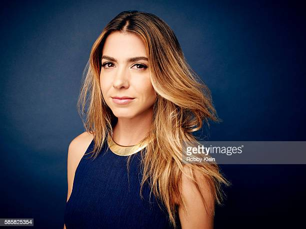 Actress Orly Shani is photographed at the Hallmark Channel Summer 2016 TCA's on July 27 2016 in Los Angeles California