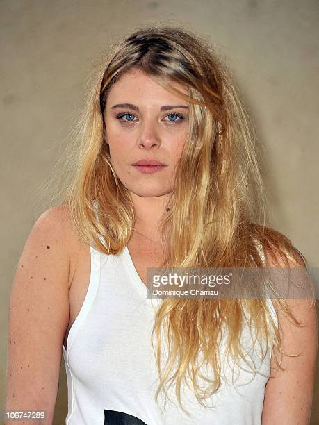 Actress Ornella Boule poses for the photocall of 'Le village des hombres' at hotel Renoir during the Festival of sarlat on November 11 2010 in...
