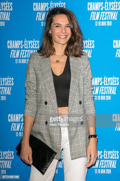 Actress Ornella Fleury attends the 7th Champs Elysees Film Festival at Cinema Gaumont Marignan on June 12 2018 in Paris France
