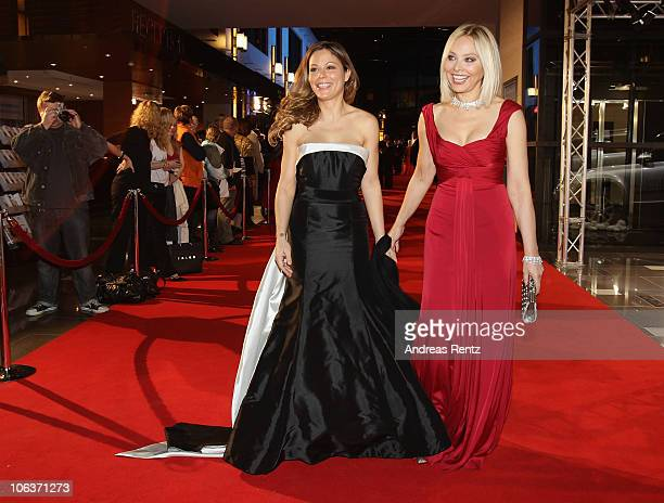 Actress Ornella Muti and her daughter Naike Rivelli arrive for the UNESCO Charity-Gala 2010 at Maritim Hotel on October 30, 2010 in Duesseldorf,...