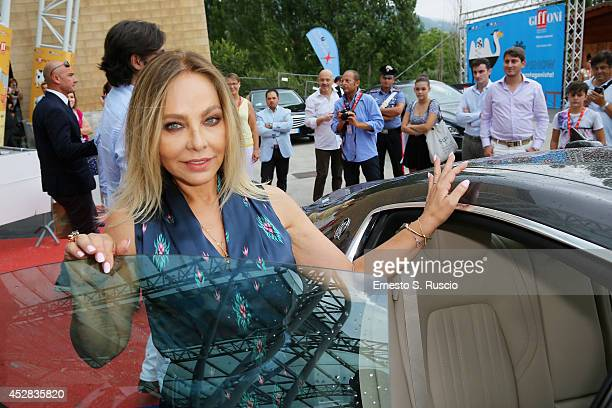 Actress Ornella Muti arrives at photocall during the Giffoni Film Festival Day 10 on July 24 2014 in Giffoni Valle Piana Italy