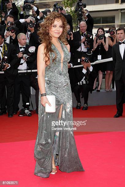 """Actress Ornella Muti arrives at the """"Blindness"""" premiere during the 61st Cannes International Film Festival on May 14, 2008 in Cannes, France."""