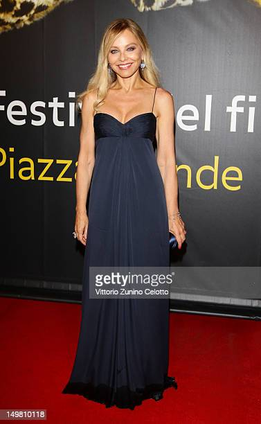 Actress Ornella Muti attends Nachtlarm Premiere during the 65th Locarno Film Festival on August 4 2012 in Locarno Switzerland