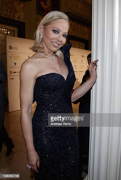 Actress Ornella Muti attends the Cinema for Peace Gala at the Konzerthaus Am Gendarmenmarkt during day five of the 61st Berlin International Film...