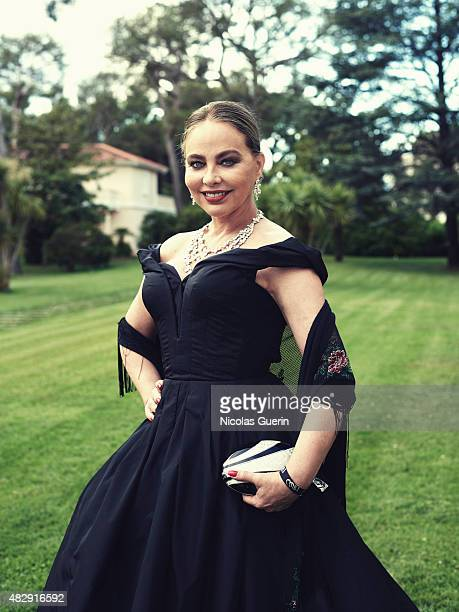 Actress Ornella Muti is photographed on May 21 2015 in Cannes France