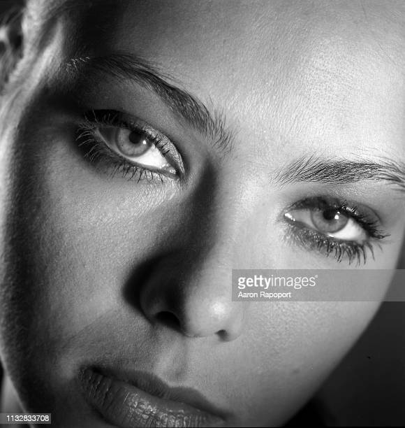 Actress Ornella Muti poses for a portrait in Los Angeles California