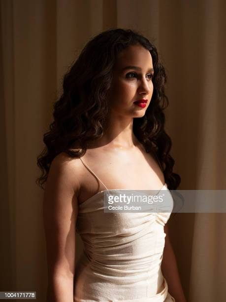 Actress Oulaya Amamra is photographed for Self Assignment on May 2018 in Cannes France