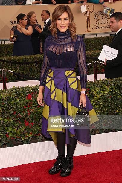 Actress Our Lady J attends the 22nd Annual Screen Actors Guild Awards at The Shrine Auditorium on January 30 2016 in Los Angeles California