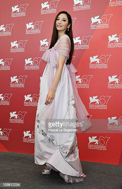 Actress Pace Wu attends the Reign Of Assassins photocall during the 67th Venice Film Festival at the Palazzo del Casino on September 3 2010 in Venice...