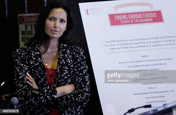 Actress Padma Lakshmi attends 6th Annual Endometriosis Foundation of America's Medical Conference Ending Endometriosis Starts at the Beginning at...