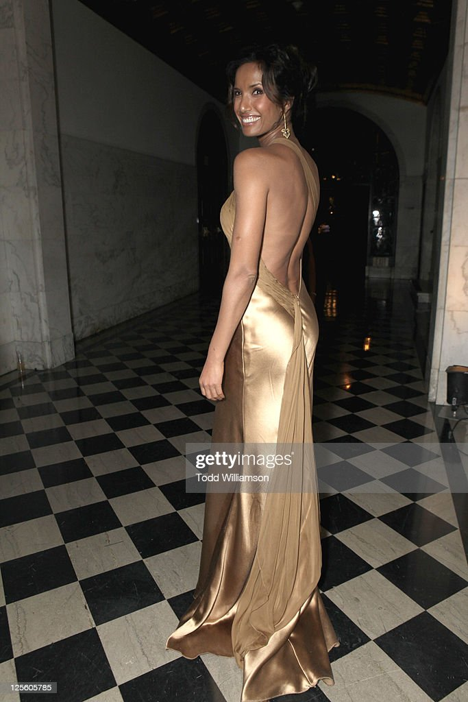 Actress Padma Lakshmi attends the 15th annual Entertainment Tonight Emmy party presented by Visit California at Vibiana on September 18, 2011 in Los Angeles, California.