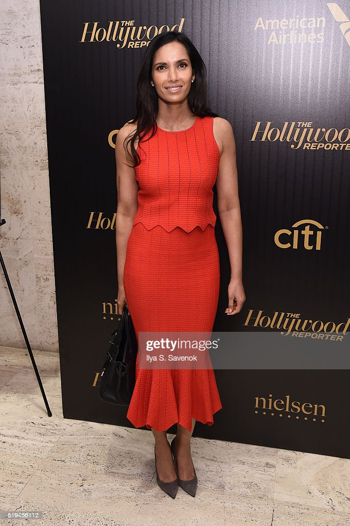 Actress Padma Lakshmi attends the Hollywood Reporter's 2016 35 Most Powerful People in Media at Four Seasons Restaurant on April 6, 2016 in New York City.