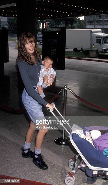 Actress Page Hannah attends the premiere of Home Alone 2Lost in New York on November 15 1992 at the United Artists Theater in Century City California