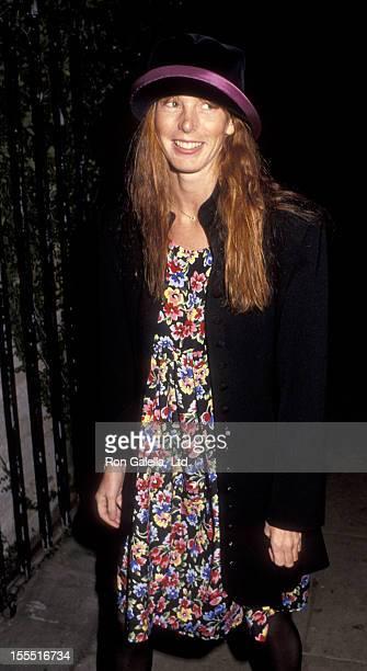 Actress Page Hannah attends Westwood Playhouse Gala Honoring Shelley Duvall on November 12, 1990 at the Westwood Playhouse in Westwood, California.